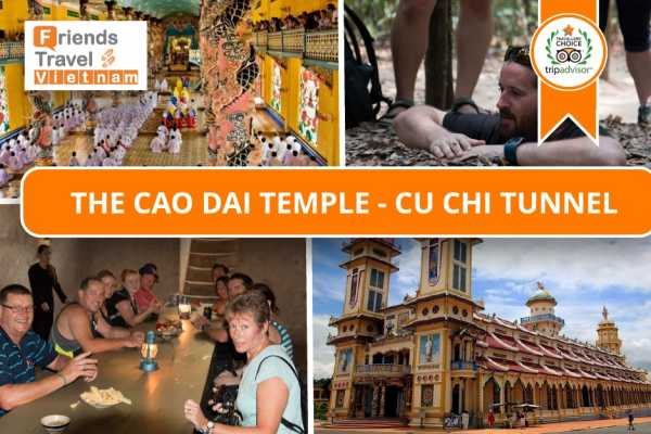 Friends Travel Vietnam The Cao Dai - Cu Chi Experience (Private Day Tour)