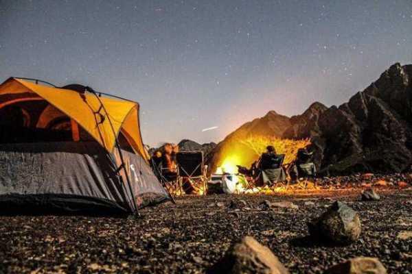 Camp Night - Wadi Bashing