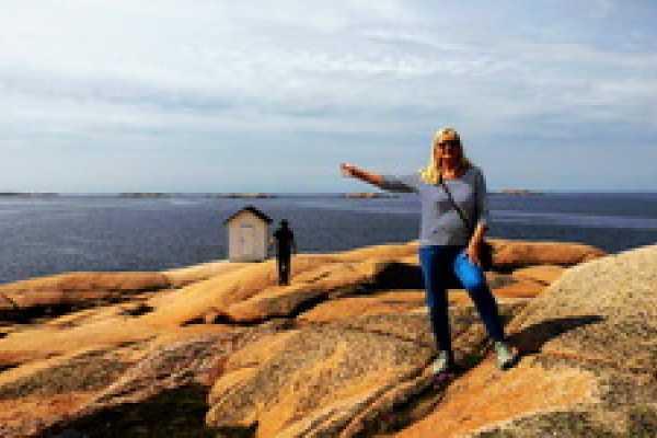 Outdoor West Vandra: Lysekil runt, stads- och naturvandring med guidning
