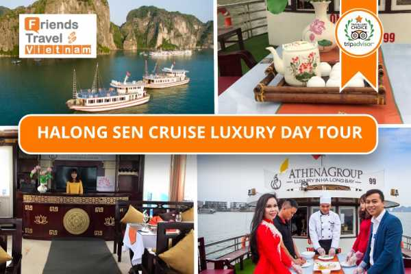 Friends Travel Vietnam Ha Long  Sen Cruise Luxury Day Tour