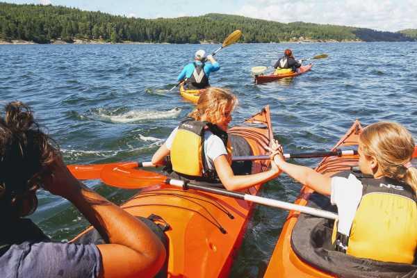 Outdoor West Kayak: Sea food à la granite (Family tour)