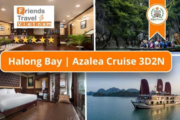 Friends Travel Vietnam Azalea Cruise | Halong Bay 3D2N