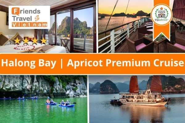 Friends Travel Vietnam Apricot Premium Cruise | Halong Bay 2D1N