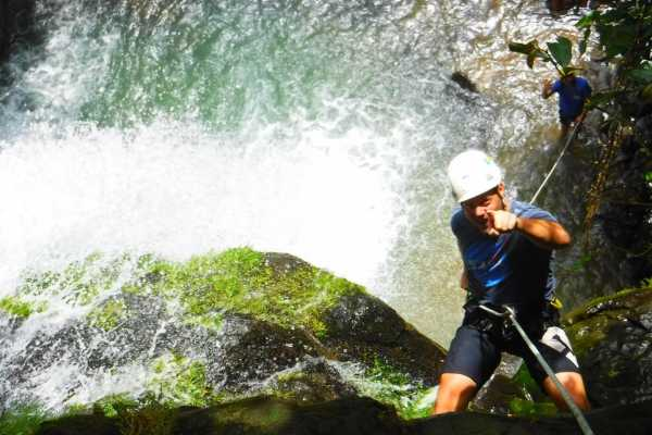 Costa Canyoning Canyoning Tour (waterfall rappelling)