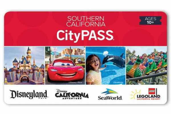 Dream Vacation Builders Southern California CityPASS with Transfer from (ANA)