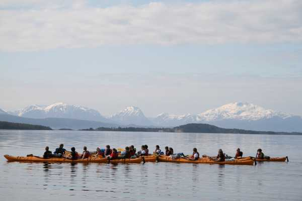 Molde Adventure Center Guided kayak trip in Molde