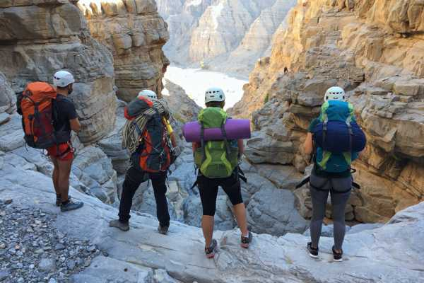 Backpacking & Abseiling Expedition - UAE
