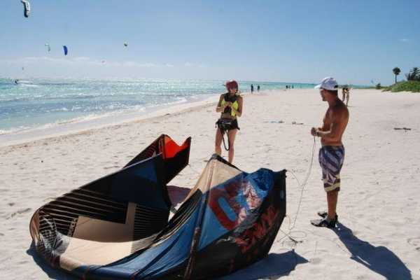 4 day Group Kite Boarding Lessons D1234