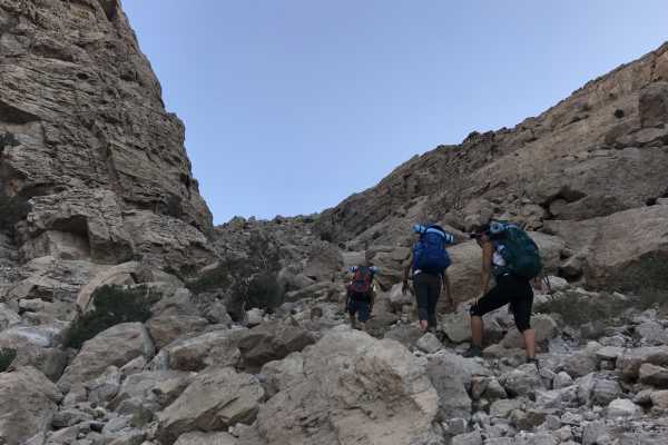 Backpacking Stairway to Sheri - UAE