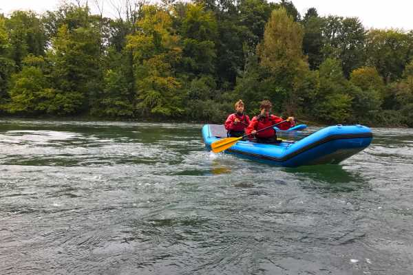 HB Adventure Switzerland AG Kajak Tour Lake Zurich