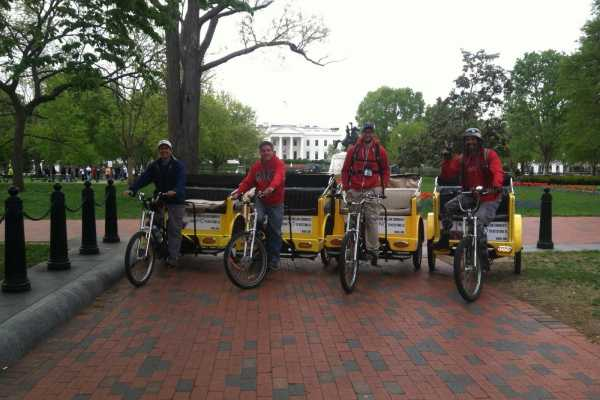 DC Pedicab National Mall and Memorials Tour