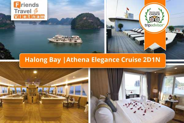 Friends Travel Vietnam Athena Elegance Cruise | 2D1N Halong Bay
