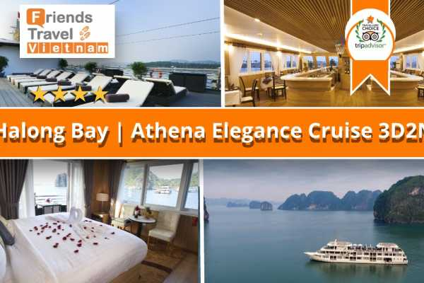Friends Travel Vietnam Athena Elegance Cruise | 3D2N Halong Bay
