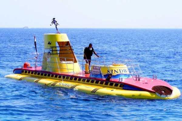 Excursies Egypte Sindbad duikboot 3 uur excursie vanuit Hurghada