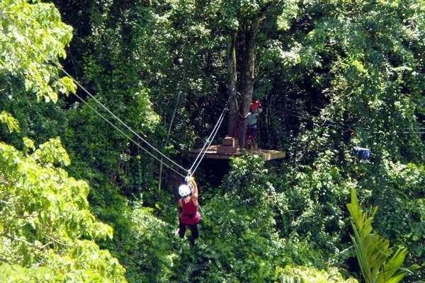 Voyages Antigua Tours & Services Rainforest Canopy Tour & Beach