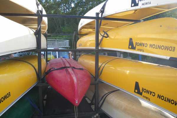 Edmonton Canoe You bring your own boat Sunday