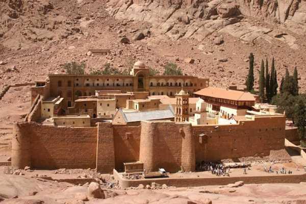 Excursies Egypte Visite du monastère de Moïse et de Sainte-Catherine au départ de Charm el-Cheikh