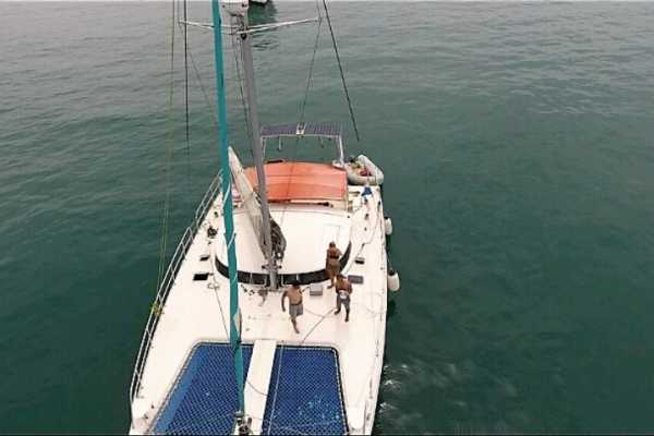 Cacique Cruiser BOAT TO PANAMA - Catamaran 360 sailboat