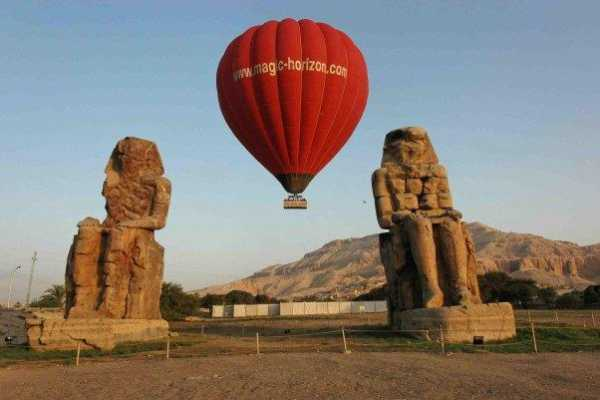 Excursies Egypte Hot Air Balloon  tour In Luxor