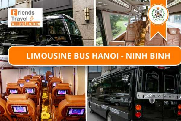 Friends Travel Vietnam Bus Tickets Hanoi - Ninh Binh (LIMOUSINE)