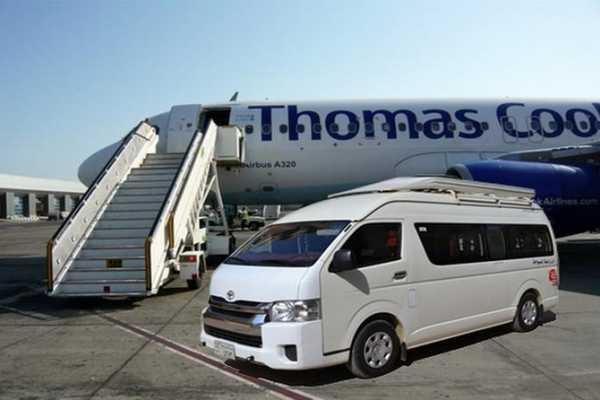 Excursies Egypte Vliegveld Transfer vanuit Hurghada Vliegveld naar  El Gouna  hotels