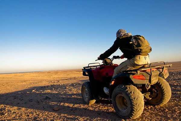Marsa alam tours Nachmittags Desert Quad von Marsa Alam