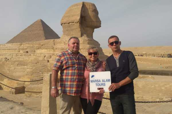 Marsa alam tours Cairo and Luxor 2 days tour from Makadi  By Flight