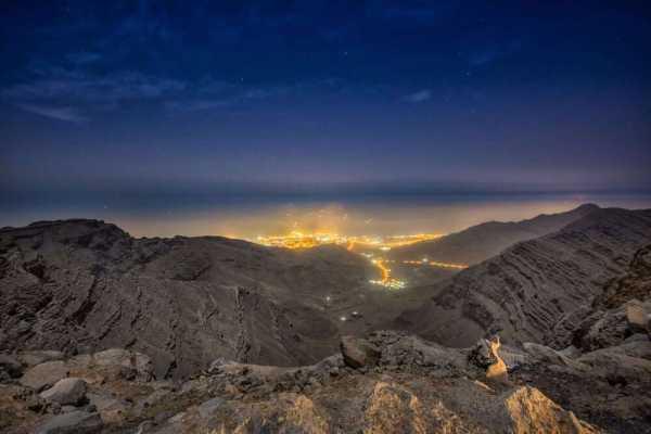 Backpacking Ridge Walk - UAE