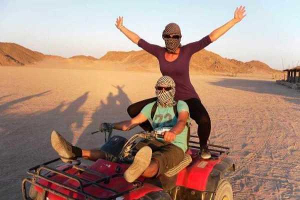 Marsa alam tours Super Quad Bike Desert Safari From Marsa Alam