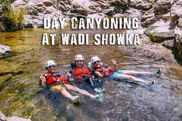 Adventurati Outdoors Day Canyoning- Wadi Showka