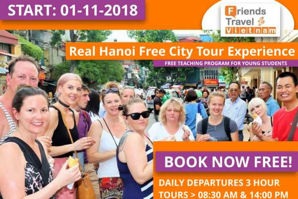 Friends Travel Vietnam Real Free Hanoi City Tour Experience
