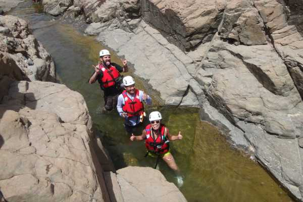 Canyoning and Wadi Drive with Local Lunch - UAE