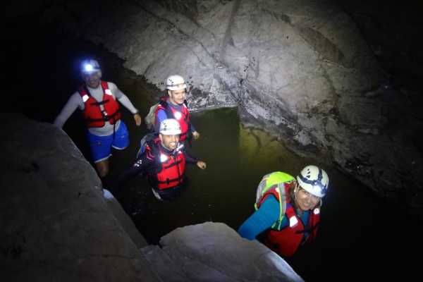 Adventurati Outdoors Night Canyoning and Wadi Drive with Local Dinner - UAE