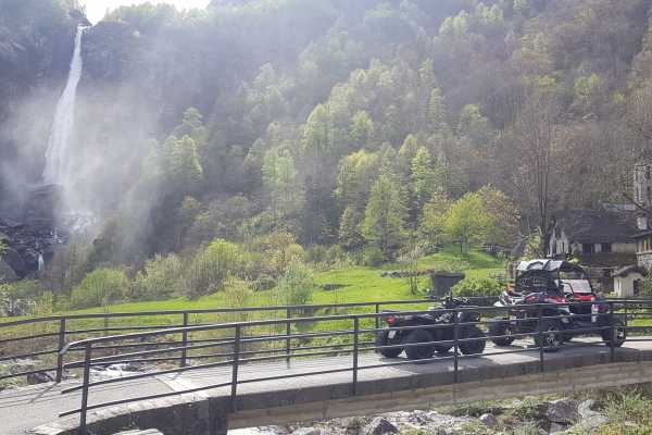 BuggyPark by HB-Adventure Switzerland 4x4 Quad/ATV Tour Tessin (Ascona)