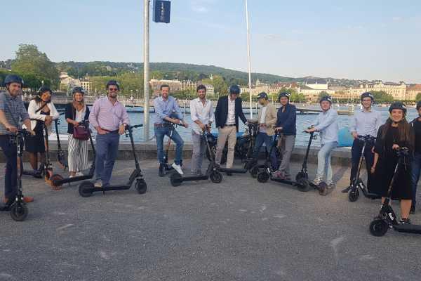 Individuelle E-Scooter Tour Zürich (für Gruppen)
