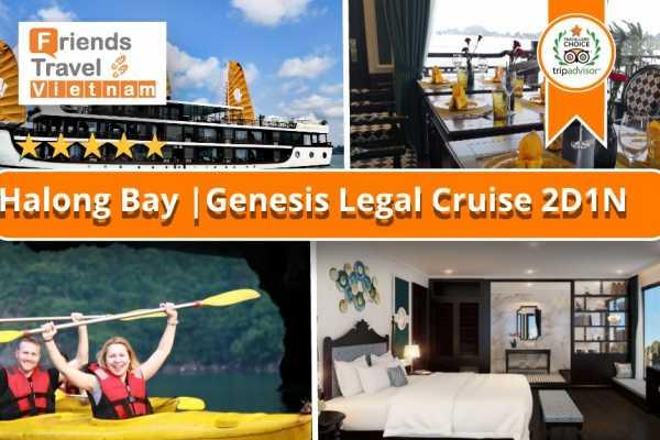 Friends Travel Vietnam Genesis Regal Cruise | 2D1N Ha Long Bay