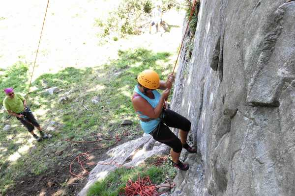 Outdoor West Private group: Introduction to Rock Climbing (granite)