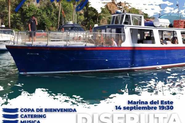 SailandPlay,SLU Boat Party !! Saturday/Sabado 14 September 7.30pm
