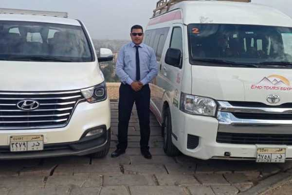 EMO TOURS EGYPT PICKUP TRANSFER FROM ABU SIMBEL TO ASWAN BY PRIVATE CAR