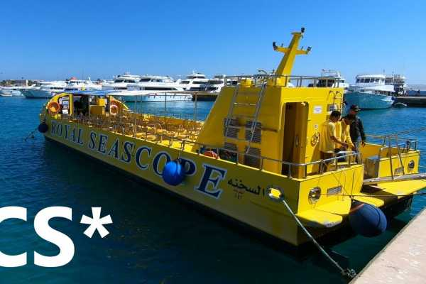 Excursies Egypte Semi Submarine Tour from El Gouna
