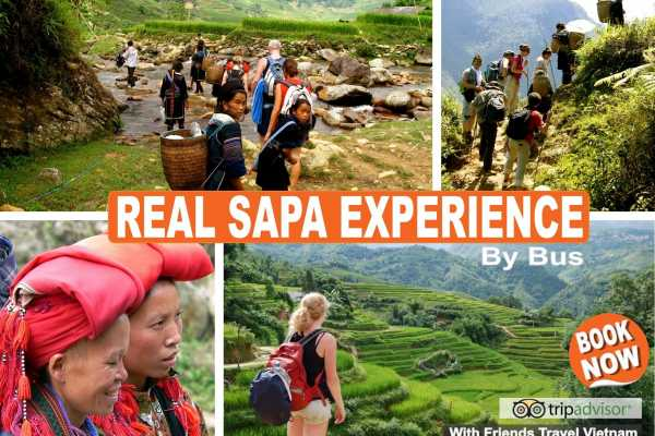 * New - Real Sapa Experience - Trekking + Easy Riders - 3D-2N by Morning Bus