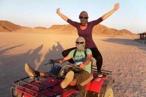 Excursies Egypte MORNING QUAD BIKE DESERT SAFARI FROM MARSA ALAM