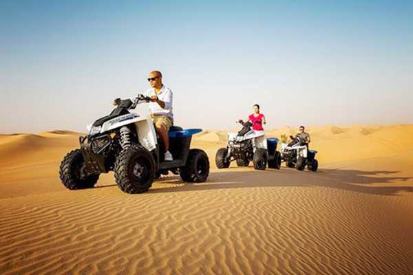 Excursies Egypte Afternoon Quad Bike Safari Excursion from Soma bay