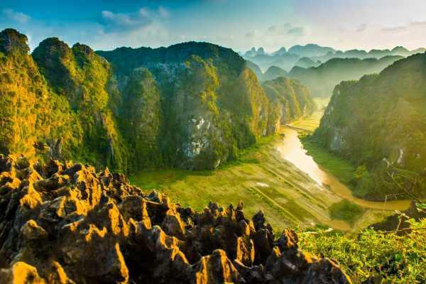 OCEAN TOURS DELUXE tour visit mua cave - trangan - baidinh