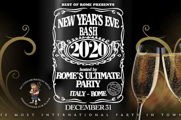 Best of Rome Ltd. New Year's Eve 2020 in Rome