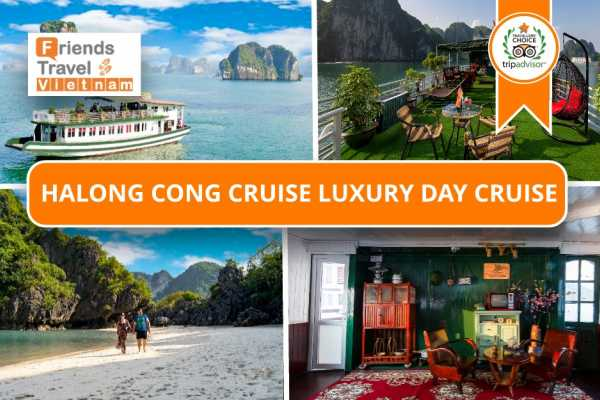 * NEW* Ha Long Cong  Cruise Luxury Day Tour
