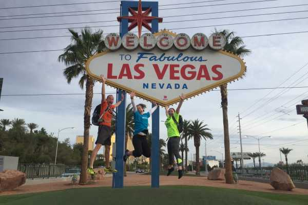 Las Vegas Running Tours (B) Historic Las Vegas Strip Run