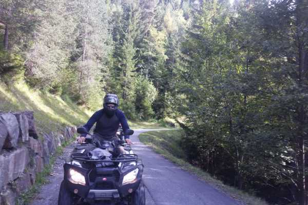 BuggyPark by HB-Adventure Switzerland Guided Tour with Quads