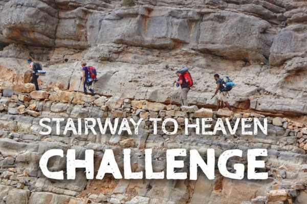 Backpacking Stairway to Heaven Reverse route - 18/19 Dec