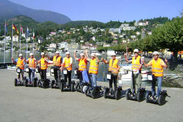 Segway City Tours by HB-Adventure Segway Public Tour Ticino - Ascona, Locarno, Losone
